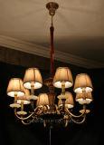 De Mooie die Kroonluchter van de Schaduw van de stof in Huis of Hotel wordt gebruikt