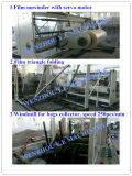 Bolso lateral automático del pan del wicket del lacre PE&PP que hace la máquina
