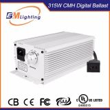 As estufas para o reator eletrônico do Hydroponics crescem o reator claro do refletor 315W CMH Digitas
