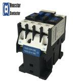 Contactor electromágnetico industrial de la CA AC-3 3 poste 12A 110V de la serie Cjx2-1210