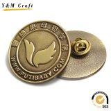 Förderndes Geschenk-kundenspezifischer Firmenzeichen-Schwarz-Leder-Metalschlüssel-Halter-Schlüsselring