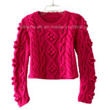 Custom New Design Hand Knit Sweater Cardigan Pullover Apparel Knitwear