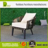Vector de cena al aire libre del jardín de los muebles fijado para el patio