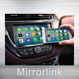 Tela Android Miracast do molde de Mirrorlink do iPhone para o entretenimento do carro