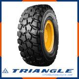 Servicio de neumáticos de camión volquete de minería de triángulo de los neumáticos radiales OTR