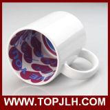 2017 New Inside Coberto de produtos coloridos de cerâmica cerâmica branca Gift Mugs