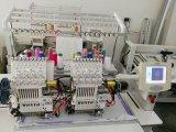 Programmierbarer computergesteuerter 2 Kopf-Schutzkappen-Stickerei-Maschinen-bester Preis (WY1202C/902C)
