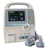 Medische Defibrillator van de Noodsituatie van het Ziekenhuis Equipemnt Drinkbare Hand met Monitor