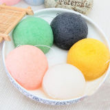100% Natural Konjac Sponge Facial Puff Face Wash Cleansing Konjac Sponge