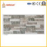 Azulejo esmaltado de cerámica rústico de la pared exterior del material de construcción con la ISO