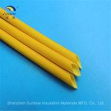 電気ワイヤー保護管のシリコーンゴムの上塗を施してあるガラス繊維の袖