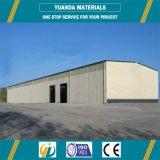 Estructura de acero del metal de China del marco de la luz prefabricada barata del almacén