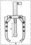ضمان التجارة 5-25 طن فصل اليد مضخة هيدروليكية تحمل مجتذب والعتاد بولير الهيدروليكية بولير