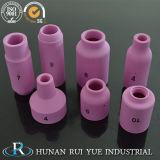 Parte 95% Al2O3 99.5% Al2O3 della tessile della ceramica dell'allumina