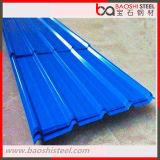Лист толя голубого цвета цвета Corrugated Coated стальной