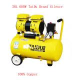 600W 24L isento de óleo da bomba de ar compressor odontológico silenciosa