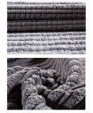 가정 직물 가구를 위한 300d 옥수수 격자 무늬 코듀로이는 덮개를 씌운다