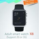 """1.5 """" reloj elegante androide de la pulgada HD GPS con el reloj elegante androide de la cámara Mtk6572 G/M"""