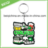 PVC por atacado Keychain do plástico 3D do Sublimation
