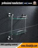 新しいデザインガラス棚の浴室のアクセサリ