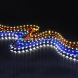 Tira flexível do diodo emissor de luz da tira 120 LEDs/M da Lado-Vista de SMD 335