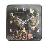 Reloj de pared grande de la venta al por mayor estupenda no nativa famosa de la estrella