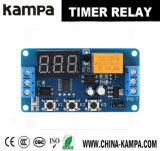 módulo de interruptor del relais del temporizador del retardo de Digitaces de la visualización de LED del control de la automatización del alto rendimiento 3V/3.7V/4.5V/5V/6V