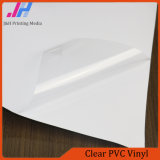 Publicidad cubierta de material PVC blanco brillante Vinilo