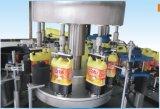 Pegamento caliente del derretimiento máquina de etiquetado para botella cuadrada