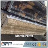 Marbre normal de la pierre M237 Portoro pour la décoration de Plinth et de bâti