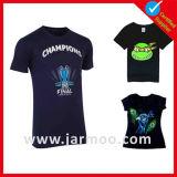 De T-shirt van de Sport van de Druk van het Embleem van de douane