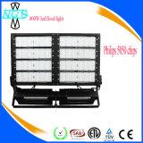 IP65 impermeabilizan la luz de inundación del módulo de 600W LED para al aire libre