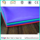 Alta densidad PU recubierto de peso ligero 100% nylon 420D Oxford tela con Repelente de Agua