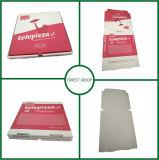 Rectángulo de papel de empaquetado de la pizza blanca de 18 pulgadas con la impresión de Flexo