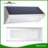 정원을%s 격상된 4 작동되는 최빈값 옥외 알루미늄 합금 48 LED 마이크로파 레이다 센서 방수 에너지 절약 램프