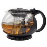 Máquina de chá de vidro com frasco de vidro do filtro de aço inoxidável bebendo garrafa de vidro