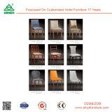 결혼식 지대 호텔 의자 루이 작풍 목제 의자 둥근 뒤 루이 나무 의자