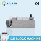 Koller libero & blocco di ghiaccio trasparente che fa macchina per l'incisione del ghiaccio