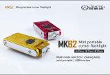 Mk62 het Kamperen van het Flitslicht van de Hoek Mini Directe Openlucht Draagbare Navulbare 180 LEIDEN van de Lichten van de Graad Roterend Flitslicht