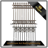 Clôture en aluminium garnie de qualité avec haute sécurité