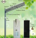 LEIDENE van de Straat van de Levering van de slimme LEIDENE Fabriek van de Lamp ZonneLichten met Zonnepaneel