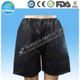 Il commercio all'ingrosso mette il pugile in cortocircuito sexy di Shorts non tessuti del pugile degli uomini a gettare