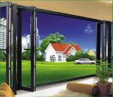 Lowes exterior de aluminio Cristal puerta plegable Precio