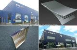 Gewölbte Aluminiumpanels für Behälter-Haus