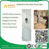 Prix ​​concurrentiel High Quality Long Life 120W LED Solar Street Light