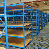 倉庫の記憶のための中型の義務Q235鋼鉄ラック棚付け