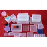 El moldeado del plástico suministra el plástico moldeado inyección