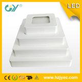 6W Plastic LEIDENE 6000k Downlight met Ce RoHS