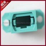 Adapter van de Flens MTP van Aqua Multimode OM3 MPO van de vezel de Optische