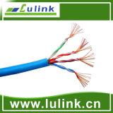 고품질 Cat5e UTP 근거리 통신망 케이블 Lk U5CB242, 4p, Strander